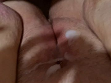Bbw gets her juicy fat pussy creampied by stranger