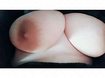 Compilation of me playing with my big tits and nipples