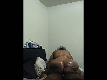 My 67 year old monster booty big butt bbw gilf part 3